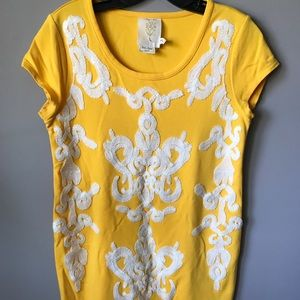 Tops - Anthropologie Top Tunic T-shirt size S